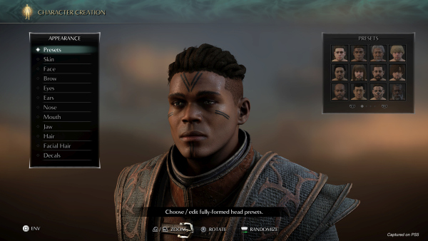 Demon's Souls, il remake si mostra nel character creator 2