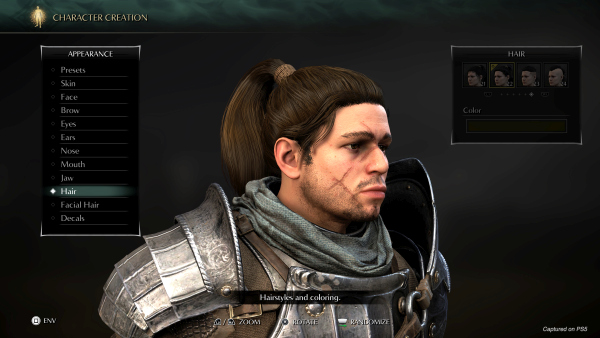 Demon's Souls, il remake si mostra nel character creator 3
