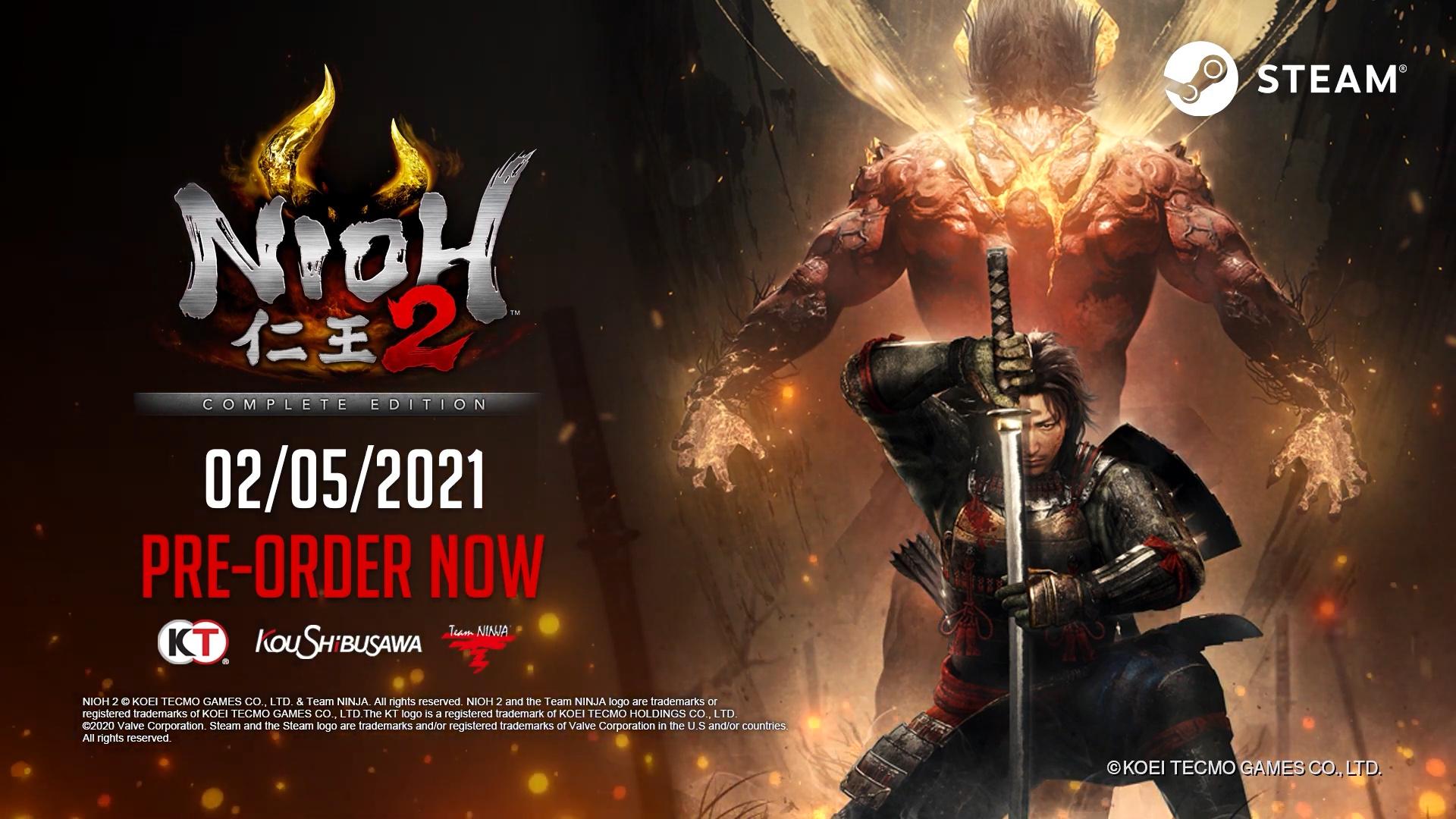 Nioh Collection annunciato per PS5; Nioh 2 - The Complete Edition in arrivo su PS4 e PC 4