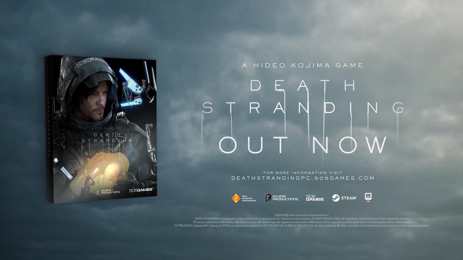 Death Stranding x Cyberpunk 2077 PC Update Trailer