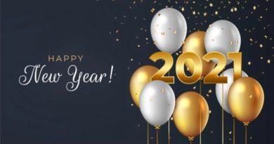 Buon anno nuovo 2021