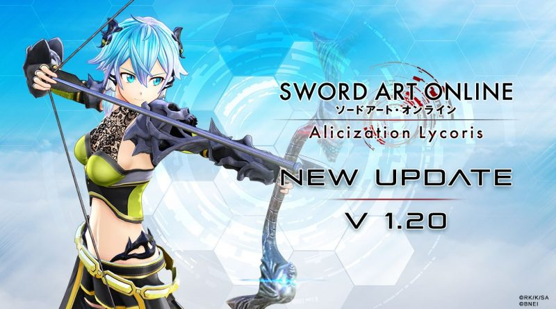 Sword Art Online: Alicization Lycoris versione 1.20