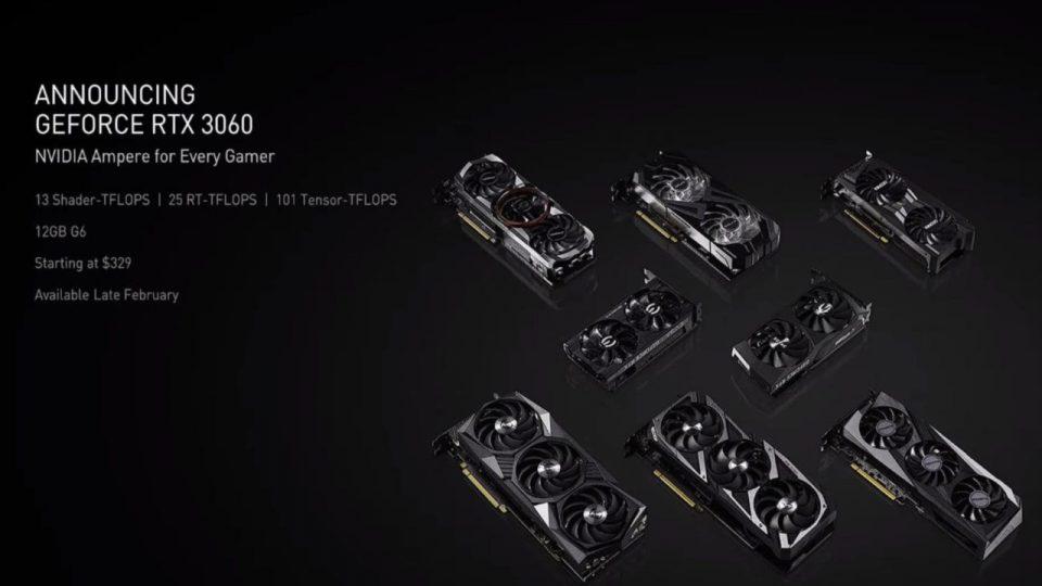 Nvidia GeForce RTX 3060 presentata al CES 2021 1