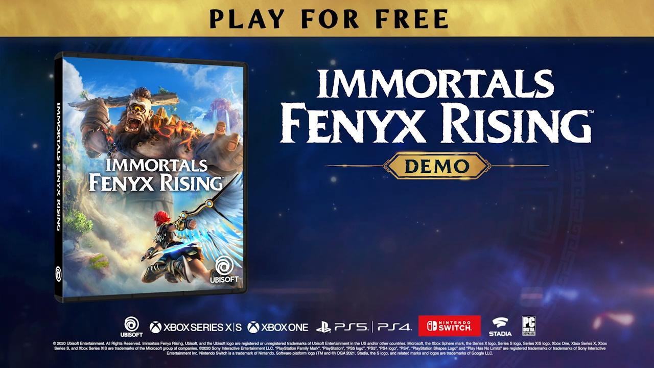 """Immortals Fenyx Rising, DLC """"A New God"""" e demo 2"""