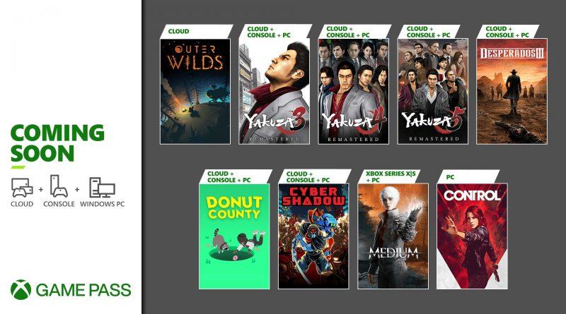 Xbox Game Pass Fine Gennaio 2021