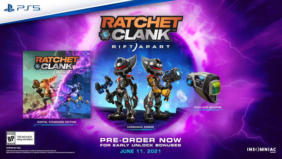 Ratchet & Clank: Rift Apart in arrivo l'11 Giugno 2