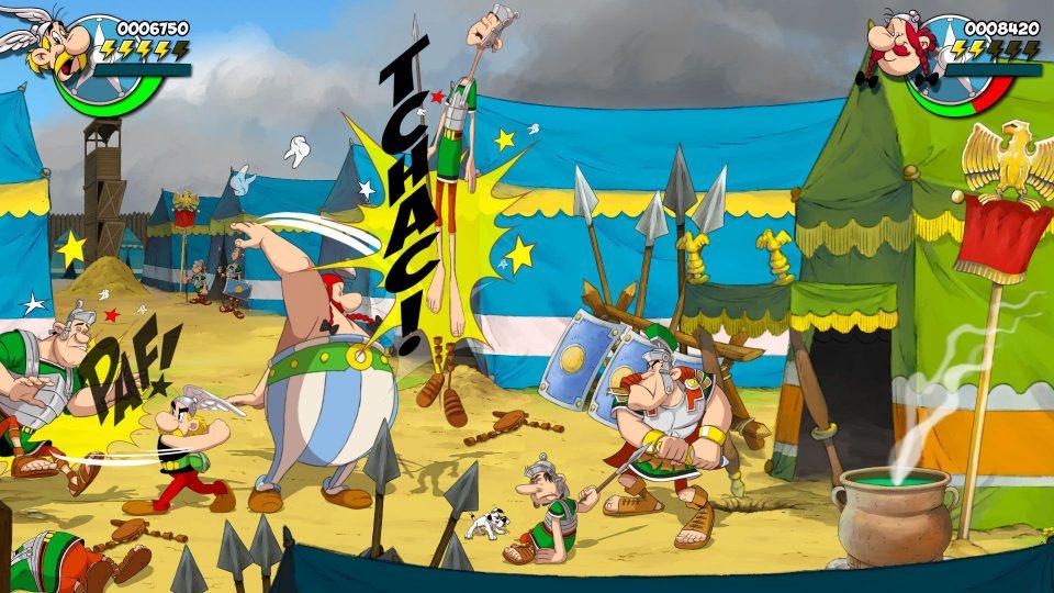 Asterix & Obelix: Slap Them All! annunciato per PS4, Xbox One, Switch e PC 3