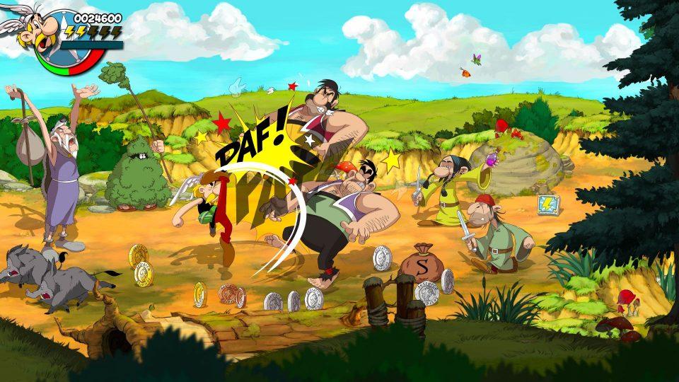 Asterix & Obelix: Slap Them All! annunciato per PS4, Xbox One, Switch e PC 6