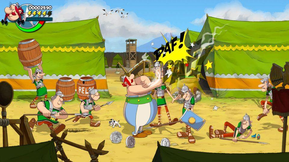 Asterix & Obelix: Slap Them All! annunciato per PS4, Xbox One, Switch e PC 8