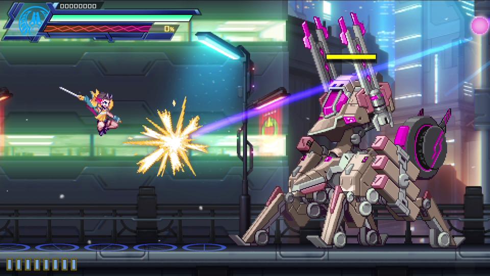 Azure Striker Gunvolt 3 verrà lanciato nel 2022 5