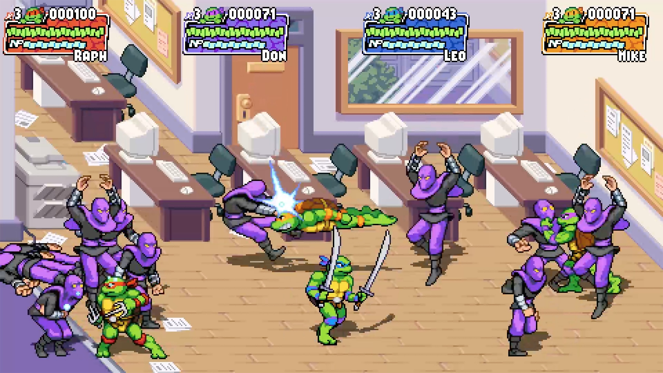 Teenage Mutant Ninja Turtles: Shredder's Revenge annunciato per Console e PC 5