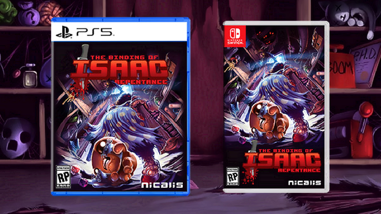 The Binding of Isaac: Repentance Console
