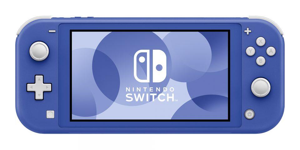 Switch Lite versione blu arriva il 21 Maggio 1
