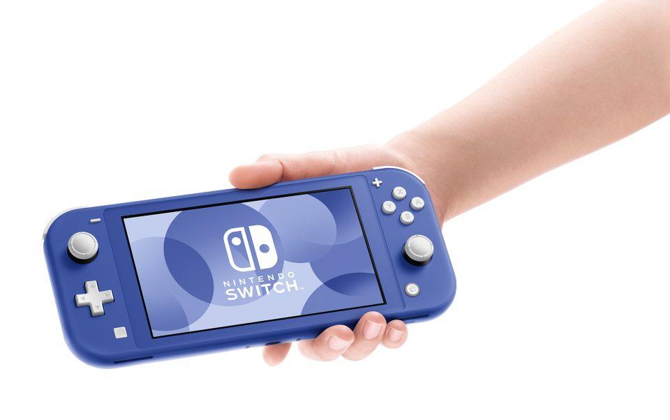 Switch Lite versione blu arriva il 21 Maggio 2