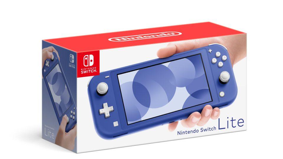 Nintendo Switch Lite Versione Blu