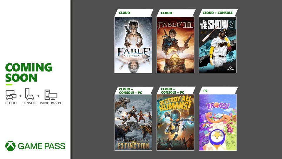 Xbox Game Pass Fine Aprile 2021