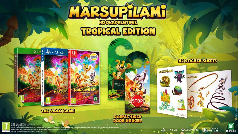 Marsupilami: Hoobadventure annunciato per PS4, Xbox One, Switch e PC 7