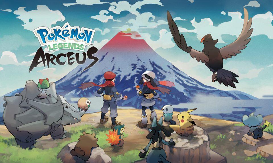 Leggende Pokémon: Arceus arriva il 22 Gennaio 2022 1