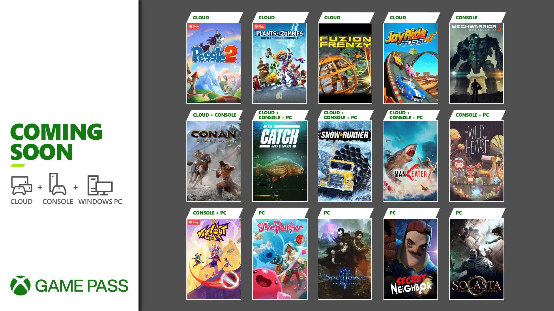 Xbox Game Pass Fine Maggio 2021