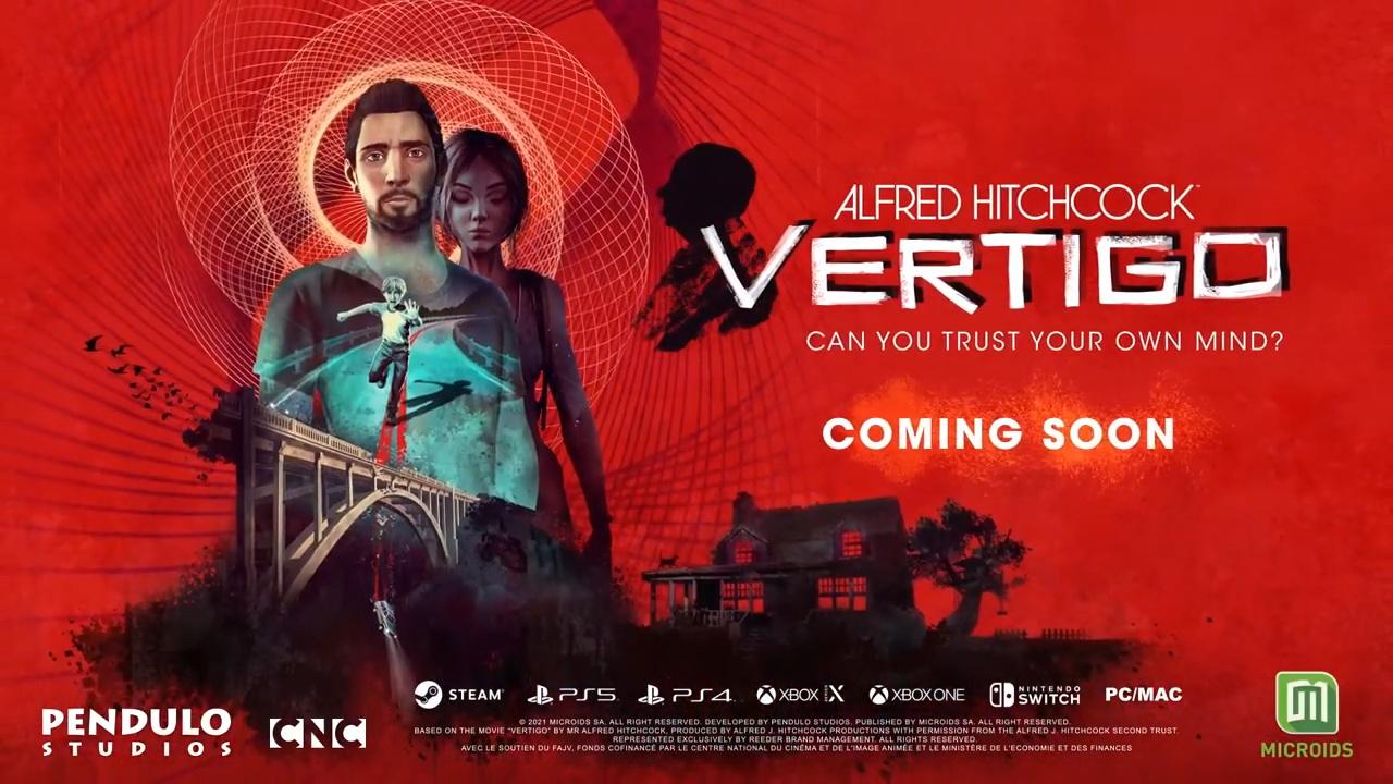 Alfred Hitchcock - Vertigo annunciato per PS5, PS4, Xbox Series, Xbox One, Switch e PC 2