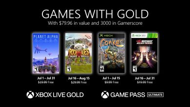 Xbox Live Gold Luglio 2021