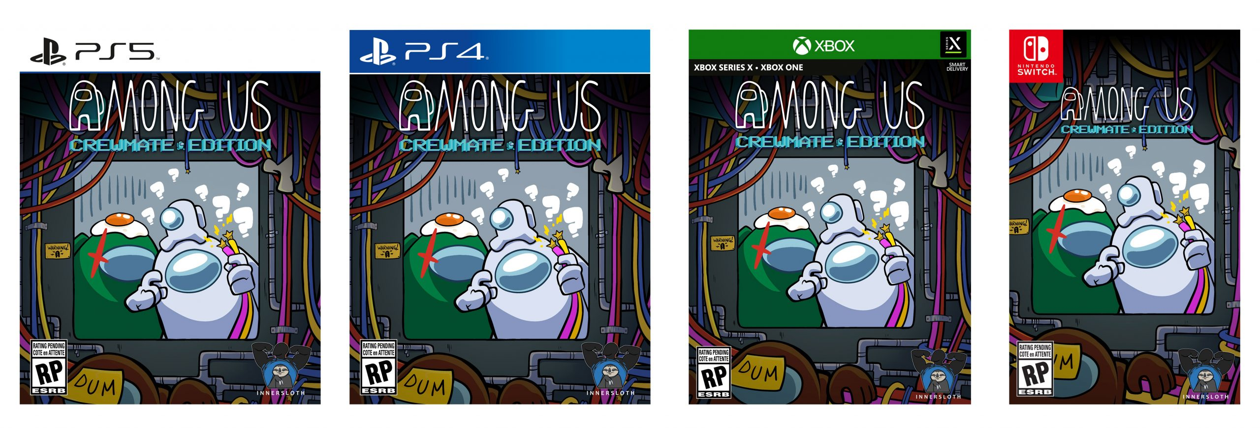 Among Us Collector's Edition annunciato per PS5, PS4, Xbox Series, Xbox One e Switch 1