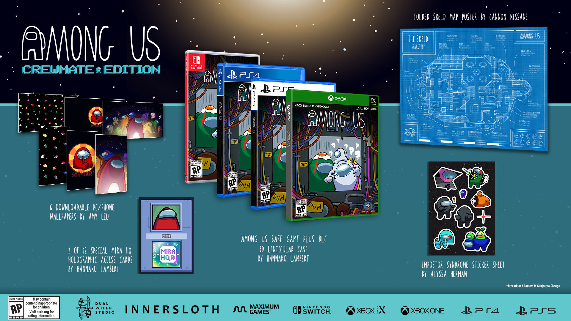 Among Us Collector's Edition annunciato per PS5, PS4, Xbox Series, Xbox One e Switch 2