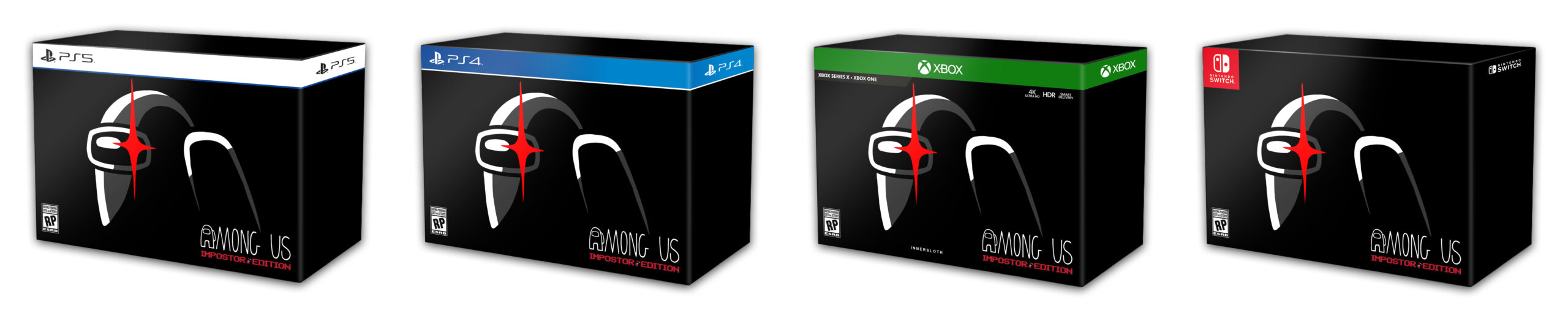 Among Us Collector's Edition annunciato per PS5, PS4, Xbox Series, Xbox One e Switch 3