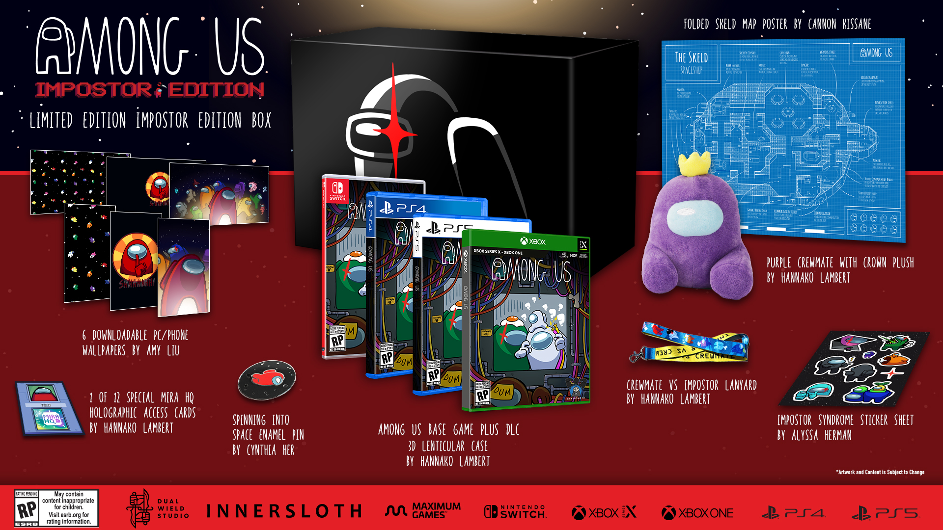 Among Us Collector's Edition annunciato per PS5, PS4, Xbox Series, Xbox One e Switch 4