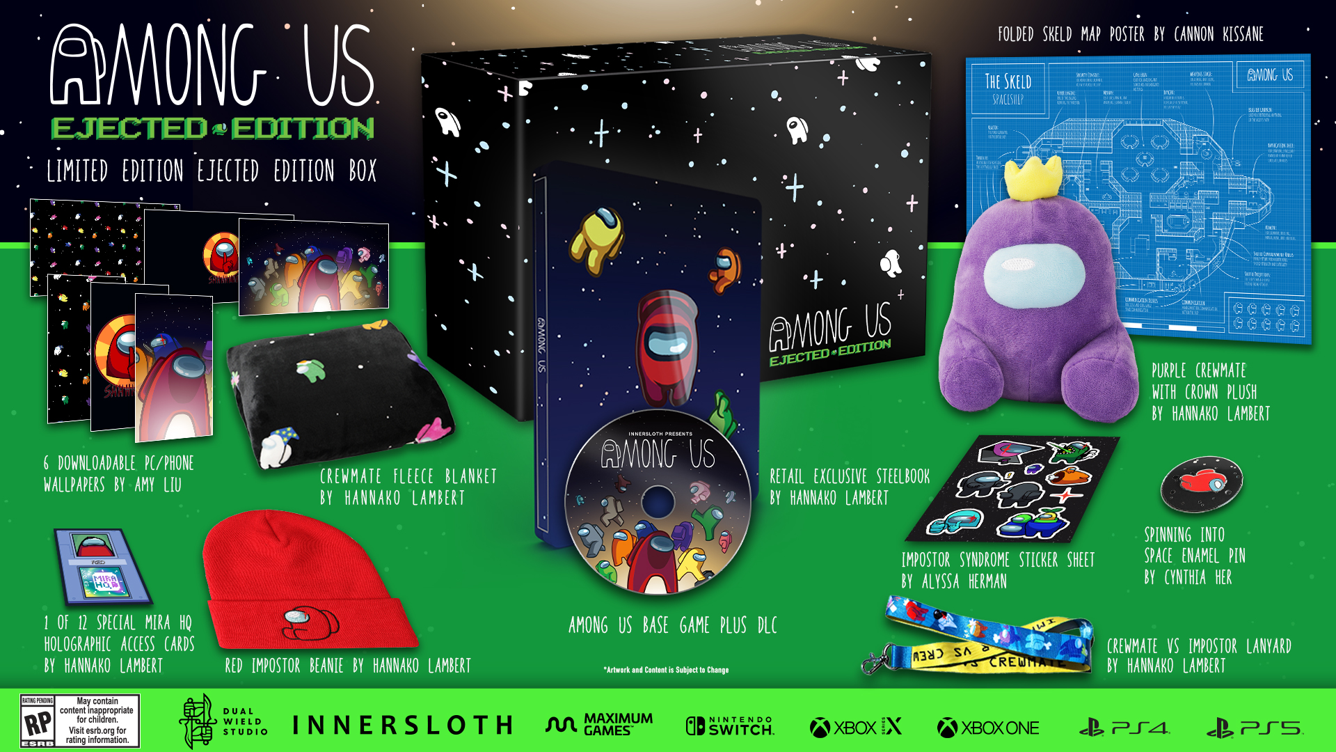 Among Us Collector's Edition annunciato per PS5, PS4, Xbox Series, Xbox One e Switch 6