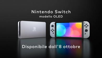 Nintendo Switch Modello OLED