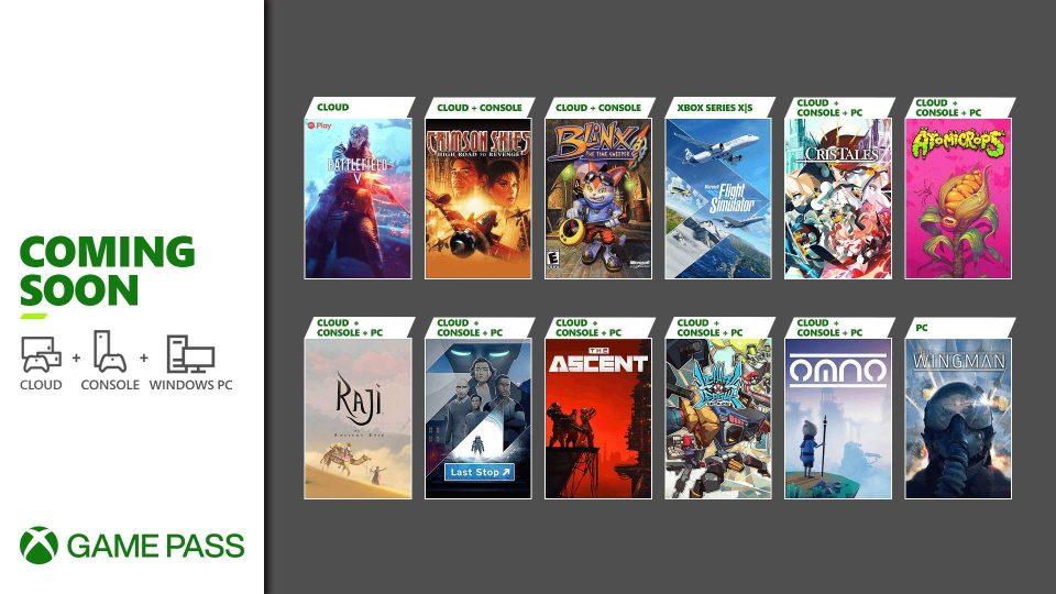 Xbox Game Pass metà Luglio 2021