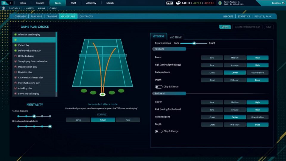 CGCReviews: Tennis Manager 2021 3
