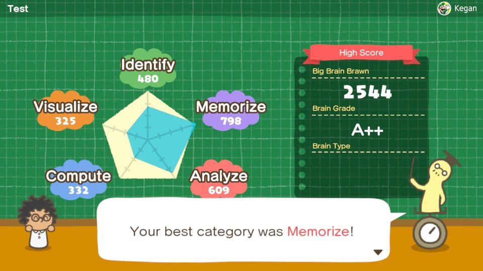 Nintendo ha annunciato Big Brain Academy: Brain vs. Brain 5
