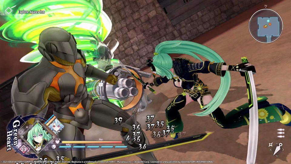 Neptunia x Senran Kagura: Ninja Wars in uscita il 29 Ottobre 6