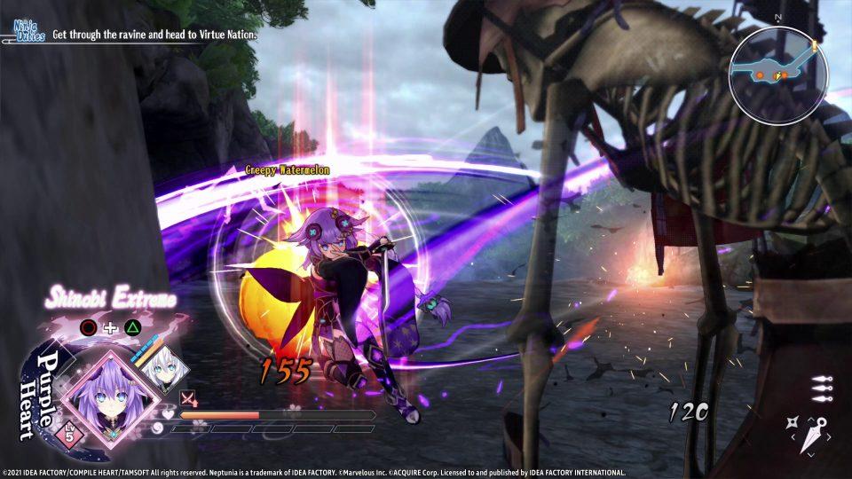 Neptunia x Senran Kagura: Ninja Wars in uscita il 29 Ottobre 10