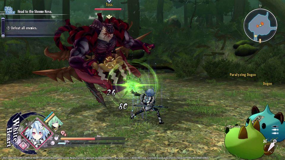 Neptunia x Senran Kagura: Ninja Wars in uscita il 29 Ottobre 11
