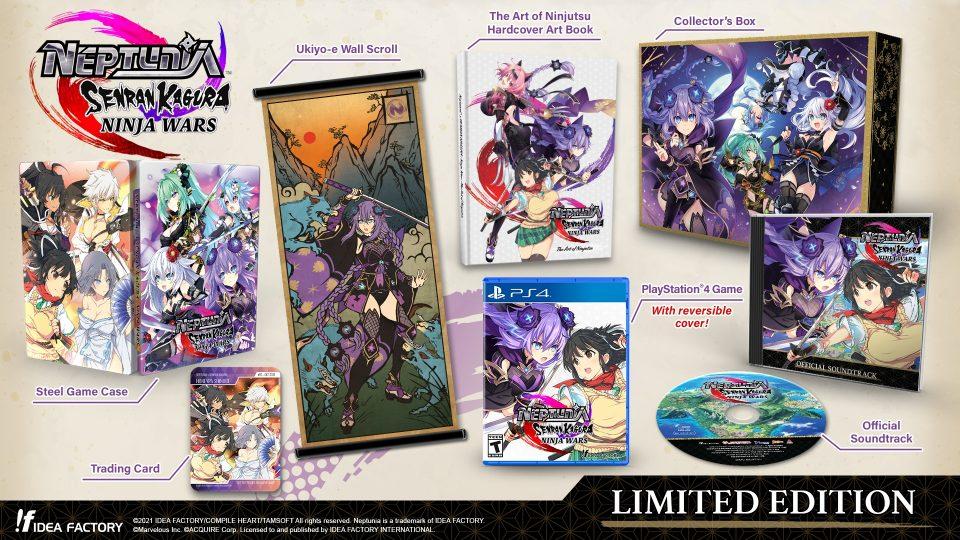 Neptunia x Senran Kagura: Ninja Wars in uscita il 29 Ottobre 14