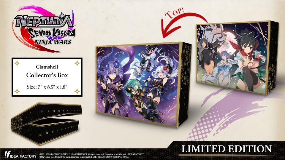 Neptunia x Senran Kagura: Ninja Wars in uscita il 29 Ottobre 20