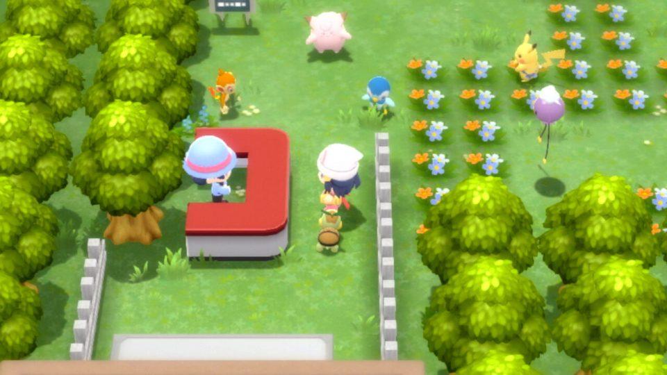 Pokémon Diamante Lucente e Perla Splendente, nuovi trailer e screenshot 29