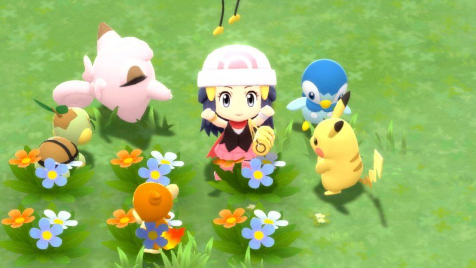 Pokémon Diamante Lucente e Perla Splendente, nuovi trailer e screenshot 32