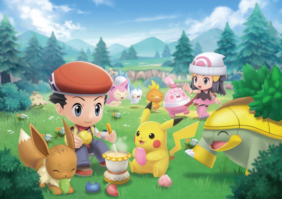 Pokémon Diamante Lucente e Perla Splendente, nuovi trailer e screenshot 40