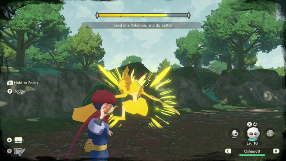 Leggende Pokémon: Arceus, nuovi trailer e screenshot 9