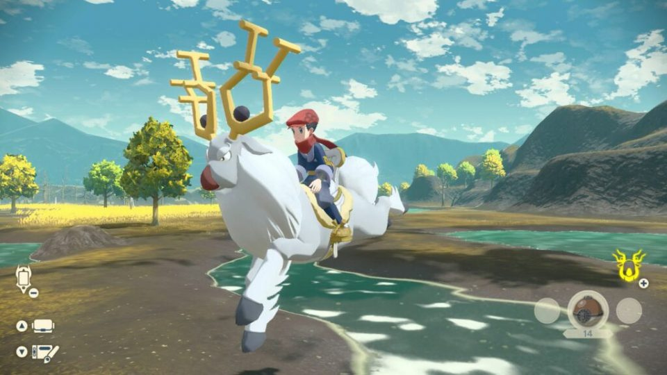 Leggende Pokémon: Arceus, nuovi trailer e screenshot 24