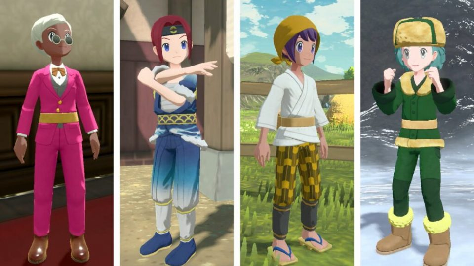 Leggende Pokémon: Arceus, nuovi trailer e screenshot 39