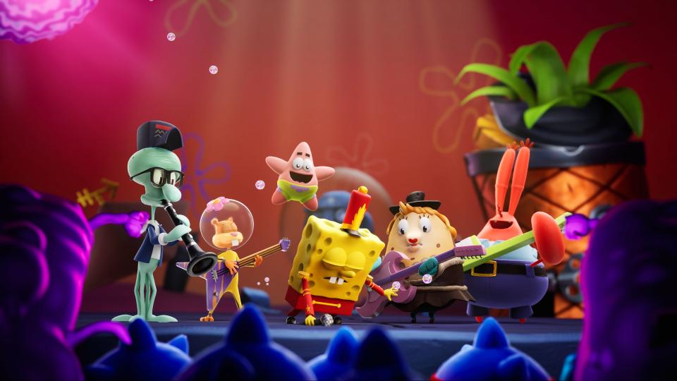 SpongeBob SquarePants: The Cosmic Shake annunciato per PS4, Xbox One, Switch e PC 1