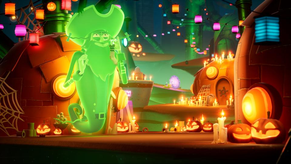 SpongeBob SquarePants: The Cosmic Shake annunciato per PS4, Xbox One, Switch e PC 3