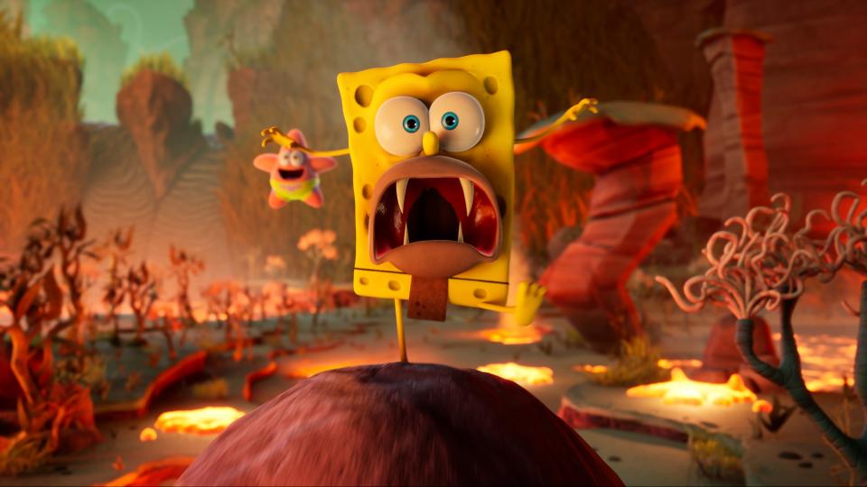 SpongeBob SquarePants: The Cosmic Shake annunciato per PS4, Xbox One, Switch e PC 9