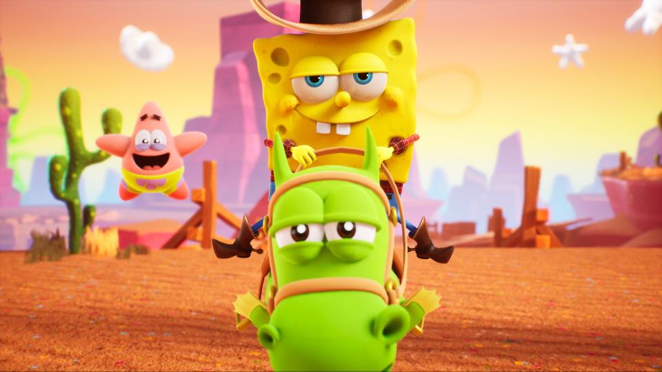 SpongeBob SquarePants: The Cosmic Shake annunciato per PS4, Xbox One, Switch e PC 8
