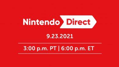 Nintendo Direct 24/09/2021